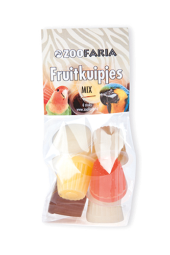 Zoofaria fruitkuipje mix
