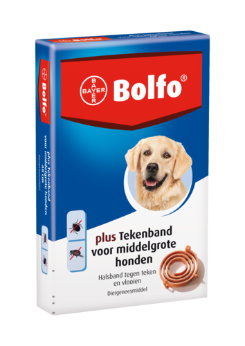 Bolfo plus tekenband hond medium 48cm
