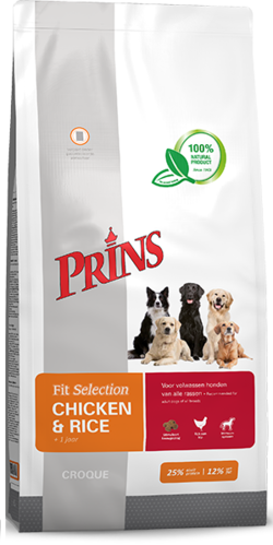 Prins fit selection kip&rijst