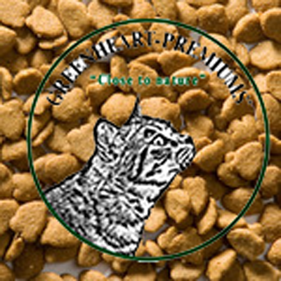 Greenheart catfood with lamb&rice