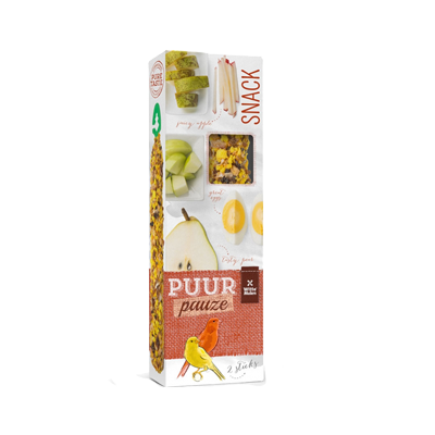Witte molen puur pauze sticks fruit & ei