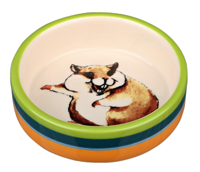Trixie ceramic bowl for hamsters, 80ml/8