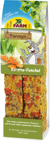 Farmys wortel/venkel 160gr