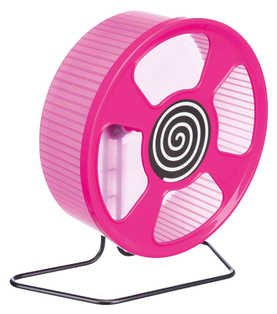 Trixie exercise wheel, plastic, 20cm