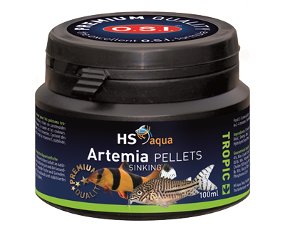 Hs aqua artemia pellets 100 ml