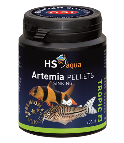 Hs aqua artemia pellets 200 ml