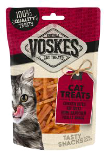 Voskes cat chicken bites 60 gr