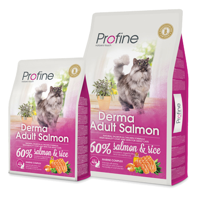 Profine cat drg derma ad salmon 2 kg