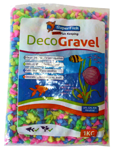 Superfisch deco grind neon mix 1 kg