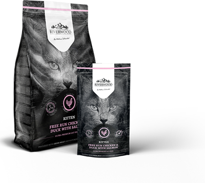 Riverwood drg cat kitten 300 gr
