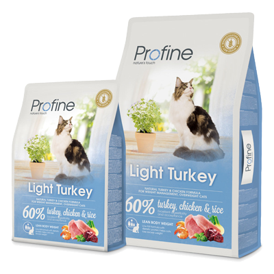 Profine cat drg light turkey 2 kg