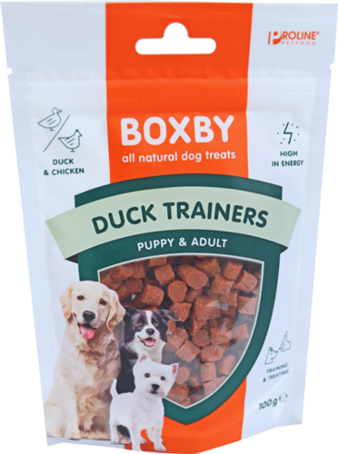 Proline boxby pup/ad duck trainers 100gr