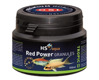 Hs aqua red power granules s 100 ml