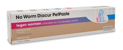 No worm diacur petpaste 4,8 ml